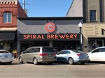 Outside of Spiral Brewery